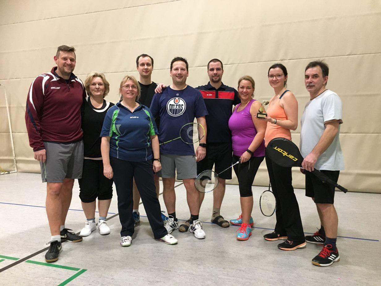 2. Badminton-Neujahrsturnier - Gruppenfoto